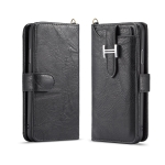 For iPhone 11 Pro Max Elegant Series H-type Buckle Horizontal Flip Leather Case with Card Slots & Wallet & Photo Frame(Black)