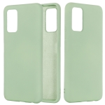 For Huawei Honor 30 Solid Color Liquid Silicone Dropproof Full Coverage Protective Case(Green)