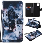 For Galaxy A71 Painting Horizontal Flip Leather Case with Holder & Card Slot & Lanyard(Magician)