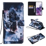 For Galaxy S20+ Painting Horizontal Flip Leather Case with Holder & Card Slot & Lanyard(Magician)