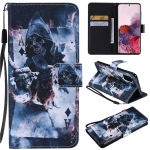 For Galaxy S20 Painting Horizontal Flip Leather Case with Holder & Card Slot & Lanyard(Magician)