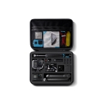 For GoPro HERO8 / 7 / 6 RUIGPRO Shockproof Waterproof Portable Case Box Size : 33.5cm x 24.7cm x 6.3cm(Black)