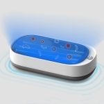 Usams US-ZB150 Smartphone Sterilizer Sterilization Box UV Light Disinfection Cleaning Box (White)