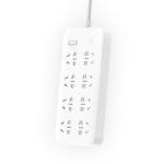 Original Xiaomi Mijia Power Socket Strip 8 Sockets Big Plug Extension Patch Board