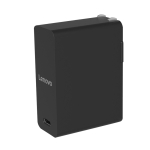 Original Lenovo 65W USB-C / Type-C Power Adapter Portable Charger with 2m Type-C Charging Cable, US Plug (Black)