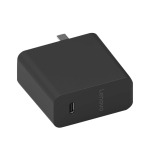 Original Lenovo 45W USB-C / Type-C Power Adapter Portable Charger with 1.5m Type-C Charging Cable, US Plug (Black)