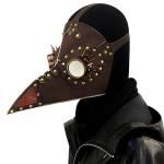HG073 Halloween Barbed Spectacled Beak Shape Mask Punk Style Mask