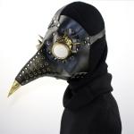 HG079 Halloween Barbed Glasses Perforated Beak Shape Mask Punk Style Mask