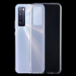 For Huawei nova 7 0.5mm Ultra-Thin Transparent TPU Protective Case (Transparent)
