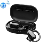 MOMAX BT3 JOYFIT Bluetooth 5.0 Small Shell True Wireless Sports Bluetooth Earphone(Black)