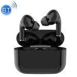 TWS Macaron Bluetooth 5.0 Touch Bluetooth Earphone with Charging Box, Support HD Calling & Siri & Popup Pairing & Renaming Bluetooth & Location Search (Black)