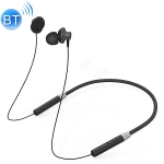 Original Lenovo HE05 Neck-Mounted Magnetic In-Ear Bluetooth Headset (Black)