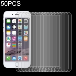 50 PCS For iPhone SE 2020 0.26mm 9H 2.5D Explosion-proof Tempered Glass Screen Film