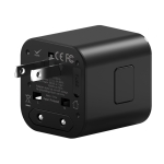 WIWU UA101 100-240V Multi-function Universal Travel Charger Power Adapter, US Plug / EU Plug / UK Plug / AU Plug