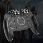 M10 Six-finger Linkage Multi-function Mobile Phone Gamepad with Bracket, Suitable for 4.7-6.5 inch Mobile Phones