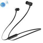 KUULAA M2 Bluetooth 4.2 Magnetic Sport Bluetooth Earphone (Black)