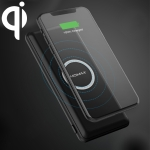 MOMAX IP89 Q.Power Minimal 10W Smart Mobile Phone Wireless Charger(Black)