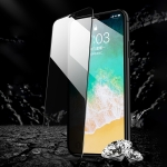 REMAX For iPhone XR Rock Series Anti-spy Tempered Glass Protective Film (Black)