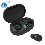 ELEPHONE ElePods 1 Bluetooth 5.0 Intelligent Digital Display Wireless Bluetooth Earphone with Charging Box (Black)