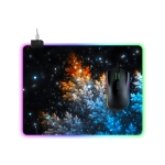 Computer Starry Sky Pattern Illuminated Mouse Pad, Size: 35 x 25 x 0.4cm