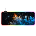 Computer Starry Sky Pattern Illuminated Mouse Pad, Size: 90 x 40 x 0.4cm