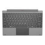 Tablet PC Magnetic Docking Keyboard for Jumper EZpad Pro 8 (WMC0321)(Silver)