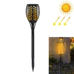 96 LEDs Solar Powered Star Flame Light IP65 Waterproof Outdoor Garden Landscape Lamp