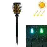 RGB LEDs Solar Powered Star Flame Light IP65 Waterproof Outdoor Garden Landscape Lamp