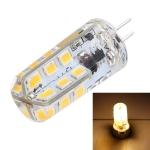 G4 SMD 2835 24 LEDs LED Corn Light Bulb, AC 12V, DC 12-24V (Warm White)