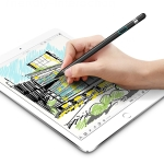 WIWU P339 USB Charging Universal Tablet PC Capacitive Pen Stylus Pen, Compatible with IOS & Android System Devices (Black)
