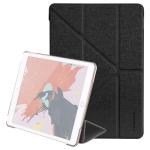 MOMAX For iPad 10.2 inch (2019) PC + PU Horizontal Flip Leather Case with Holder & Sleep / Wake-up Function (Black)