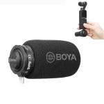 BOYA BY-DM100-OP For DJI OSMO Pocket Camera Dedicated Digital Condenser Microphone (Black)