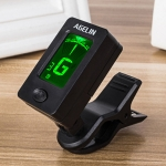 AGELIN JT-02 Clip Type Universal String Instrument Tuner Multi-Function Guitar Electronic Tuner with Digital Display, Size: 4.5 x 4 x 2.4cm