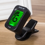AGELIN JT-03 Clip Type Universal String Instrument Tuner Multi-Function Guitar Electronic Tuner with Digital Display, Size: 4.5 x 3.8 x 2.5cm
