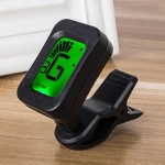JT-03 Clip Type Universal String Instrument Tuner Multi-Function Guitar Electronic Tuner with Digital Display, Size: 4.5 x 3.8 x 2.5cm