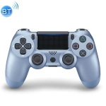 For PS4 Wireless Bluetooth Game Controller Gamepad with Light, EU Version (Blue)