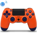 Wireless Bluetooth Game Handle Controller with Lamp for PS4, EU Version(Orange)