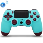 Wireless Bluetooth Game Handle Controller with Lamp for PS4, EU Version(Mint Green)