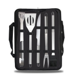 5 in 1 Outdoor Tableware Set Camping Barbecue Tableware Picnic Tool Set