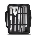 9 in 1 Outdoor Tableware Set Camping Barbecue Tableware Picnic Tool Set