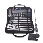 30 in 1 Outdoor Tableware Set Camping Barbecue Tableware Picnic Tool Set