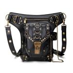 HG043 Retro Punk Style One-shoulder Bag Cross-body Bag Waist Bag for Ladies, Size: 34 x 30cm