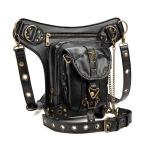 HG062 Punk Style Star Decoration One-shoulder Bag Cross-body Bag Waist Bag for Ladies, Size: 34 x 30cm