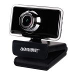 aoni C11 720P 150-degree Wide-angle Manual Focus HD Computer Camera with Microphone