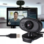 MSK-03 480P USB Camera WebCam with Microphone (Black)