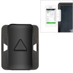 Laptop Mobile Phone Connection Bracket Multi-Screen Interactive Bracket Computer Side Screen Mobile Phone Holder (Black)