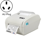 POS-9210 110mm USB +  Bluetooth POS Receipt Thermal Printer Express Delivery Barcode Label Printer, AU Plug(White)