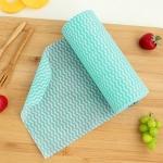 50 Sheets Non-Woven Disposable Washing Towels Dishcloth (Green)