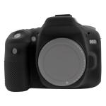 PULUZ Soft Silicone Protective Case for Canon EOS 90D(Black)