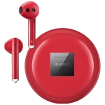 Huawei FreeBuds 3 Binaural Stereo Wireless Bluetooth Earphone with Charging Box, Support Bone Voice Sensing & Automatic Pop-up Window Pairing & Wireless Charging(Red)